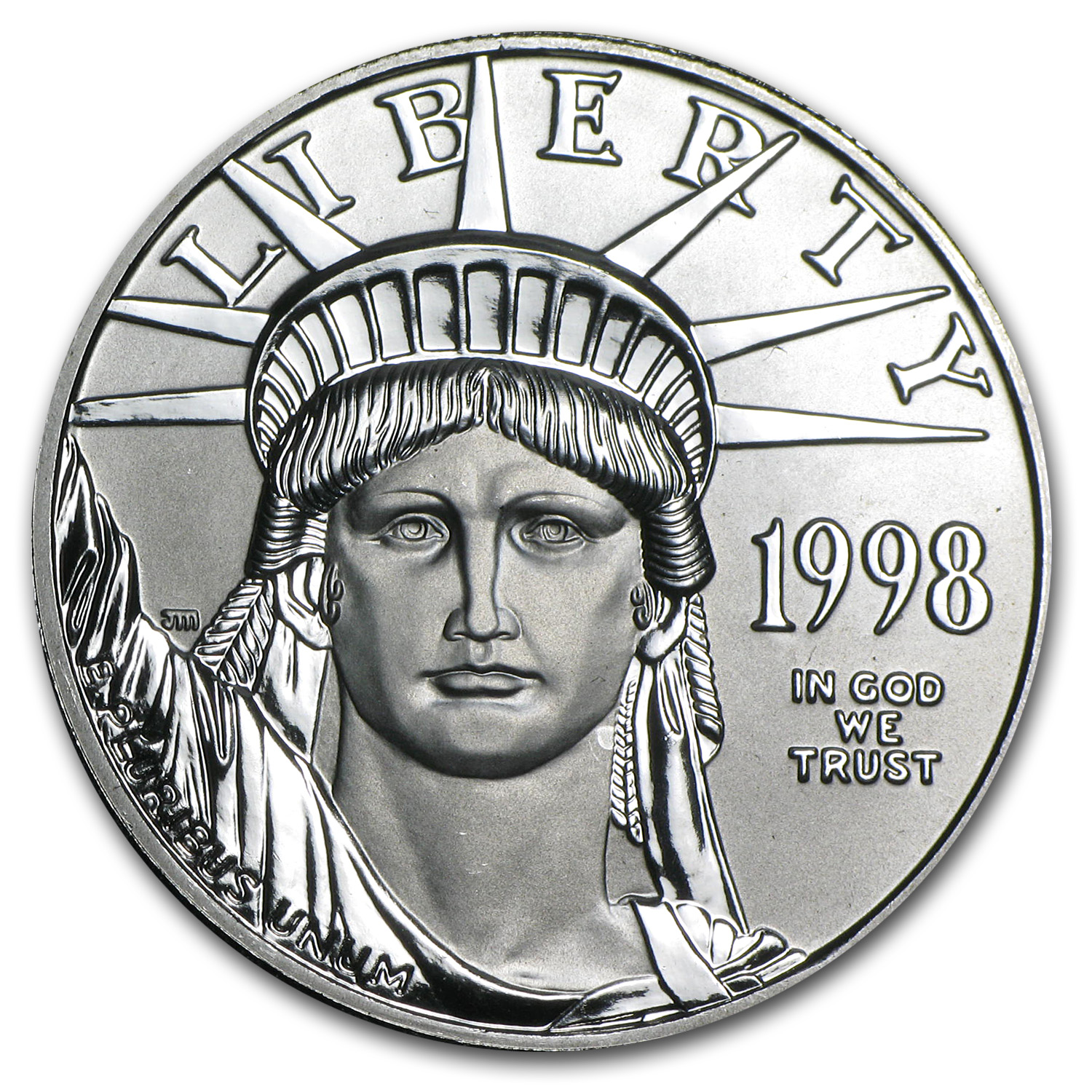 1998 1 oz Platinum American Eagle BU